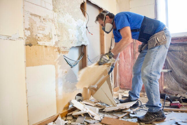 Remodeling without permit