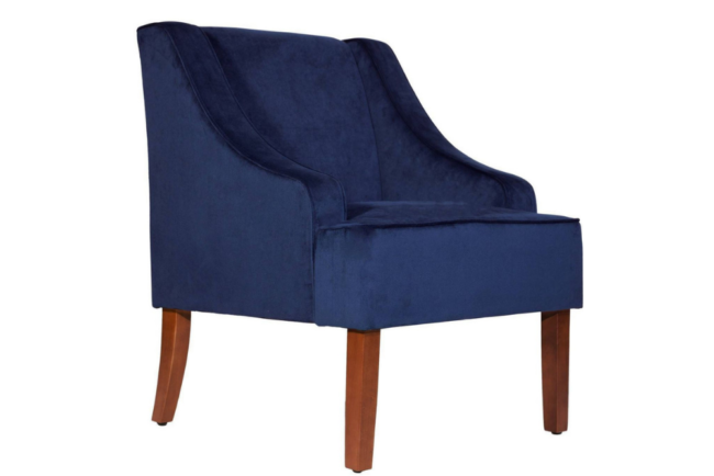 Deals Roundup 10:12 Option: Benzara Accent Chair with Swooping Arms
