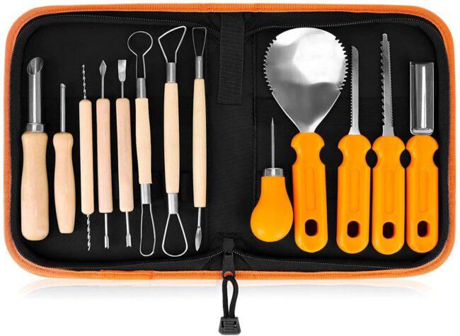 Deals Roundup 10/7 Option: Elmchee Halloween Pumpkin Carving Tools