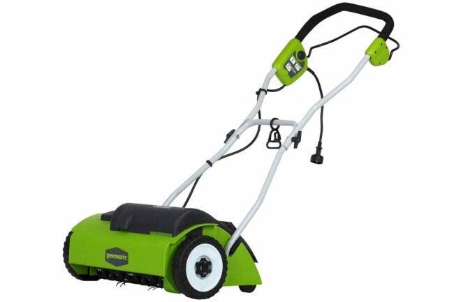 Deals Roundup 10/7 Option: Greenworks 10A Corded 14-Inch Dethatcher