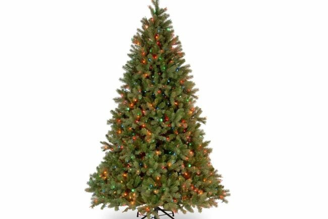 Deals Roundup 10/7 Option: National Tree Company Feel Real Artificial Christmas Tree