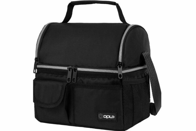 Deals Roundup 10/7 Option: OPUX Insulated Dual Compartment Lunch Bag