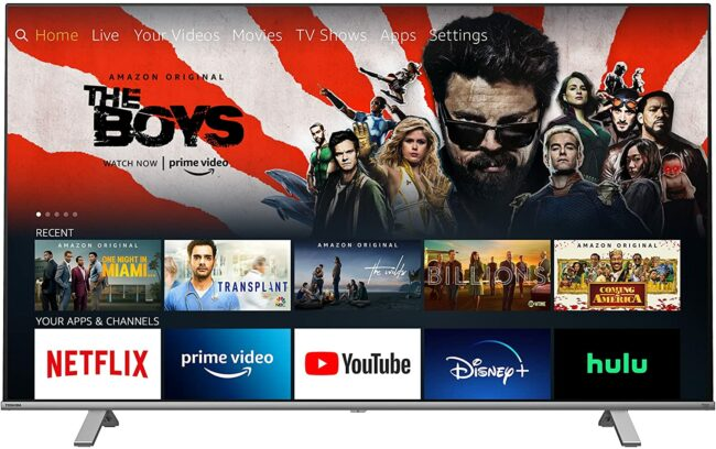 Deals Roundup 10/7 Option: Toshiba 65-inch C350 Series Smart Fire TV