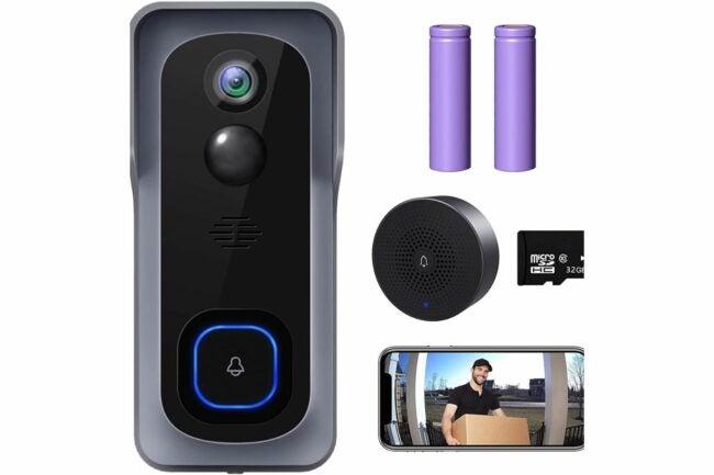 Deals Roundup 10/7 Option: XTU WiFi Video Doorbell Camera