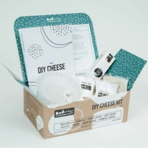 The Best Food Gifts Option: Deluxe Cheese Making Kit