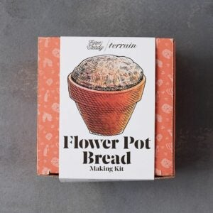 The Best Food Gifts Option: Flower Pot Bread Making Kit