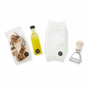 The Best Food Gifts Option: Homemade Mushroom Ravioli Kit