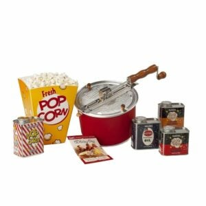 The Best Food Gifts Option: Original Whirley-Pop with Metal Tin Collection