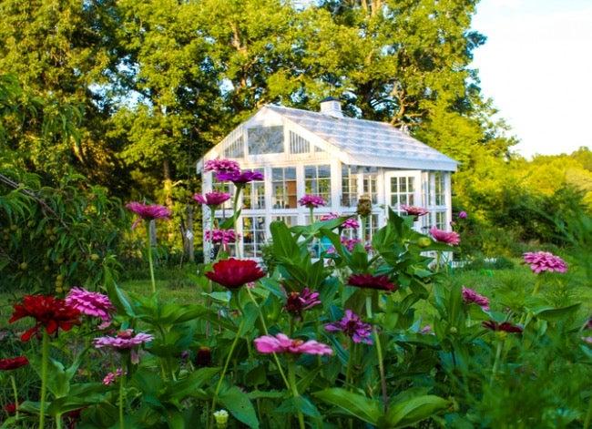 DIY greenhouse plans