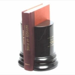 The Engraved Gifts Option: Black Marble Column Bookends