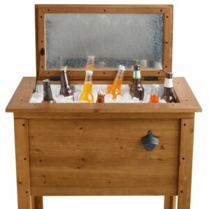 The Engraved Gifts Option: Established Outdoor Wooden Cooler
