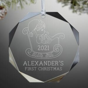The Engraved Gifts Option: Precious Moments Premium Engraved Ornament
