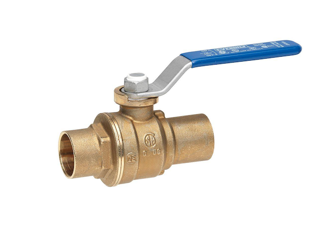 types of water valves - ball valve