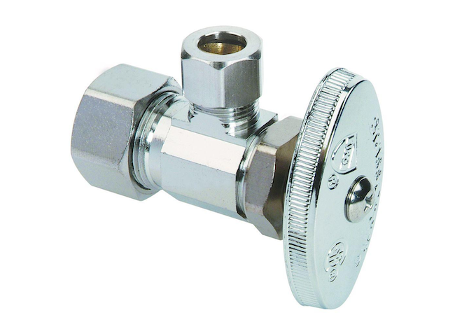 types of water valves - supply stop valve