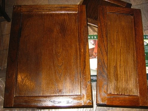 How To Refinish Cabinets Bob Vila, Kitchen Cabinet Doors Staining