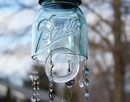 Mason jar upcycle repurpose