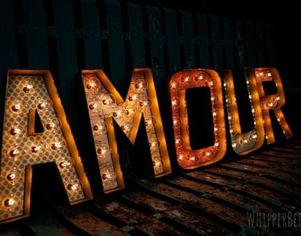 Marquee letters end