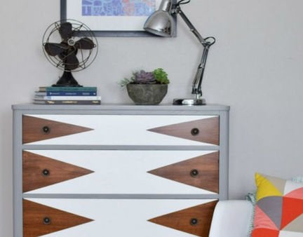 New bob vila thums up triangle dresser 1