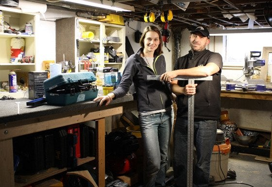 Emily Winters (a.k.a. Merrypad) and Pete Fazio (a.k.a. Dadand)