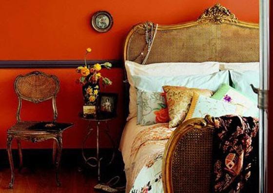 Tangerine Tango Bedroom