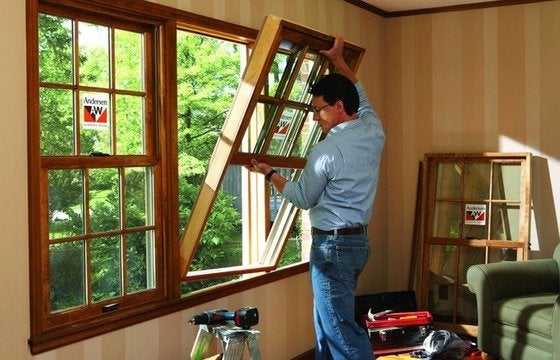 Installing Replacement Windows