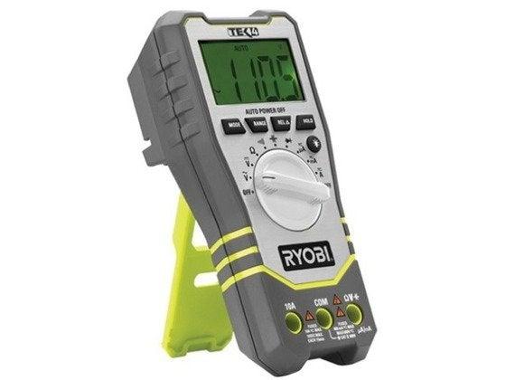 Ryobi Tek4 Digital Multimeter Review