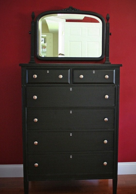 How To Paint Wood Furniture Bob Vila, How To Paint Old Dark Wood Furniture