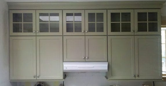 Cabinet Artistry The 12 Year Kitchen, How To Install Stacked Kitchen Cabinets