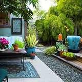 Chic backyard outdoor living area turidutentresko blogspot 1