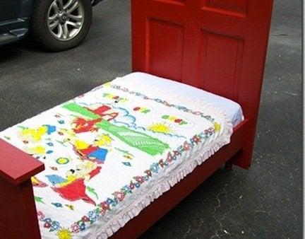Diy toddler bed finished
