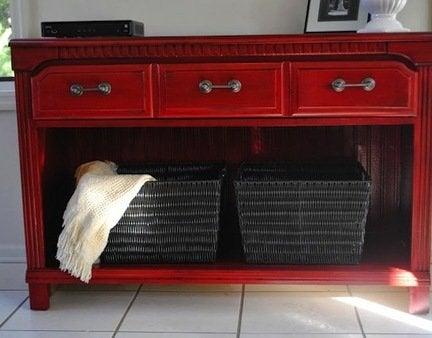 Diy dresser console table