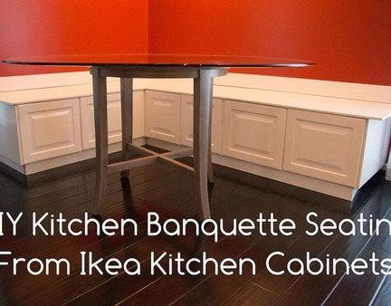 Cabinet banquette opener