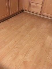 Dupont real touch elite. our kitchen. maple