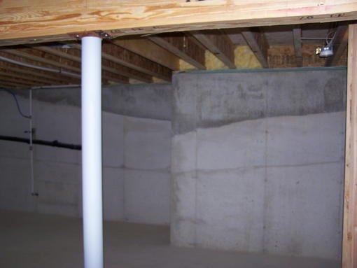 1479 poured concrete base