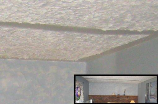 6227 pointy plaster ceili
