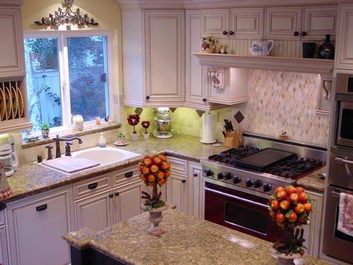 7258 granite tile counter