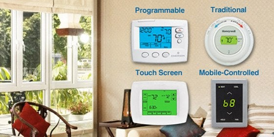 2 thermostats