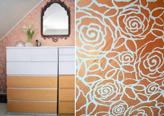 Stencil Ideas 10 Easy Decorative Paint Projects Bob Vila