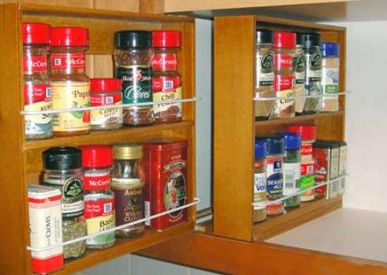 NEW Kitchen Spice Rack Organizer Storage Shelf Pantry Wall Door Hanging Holder