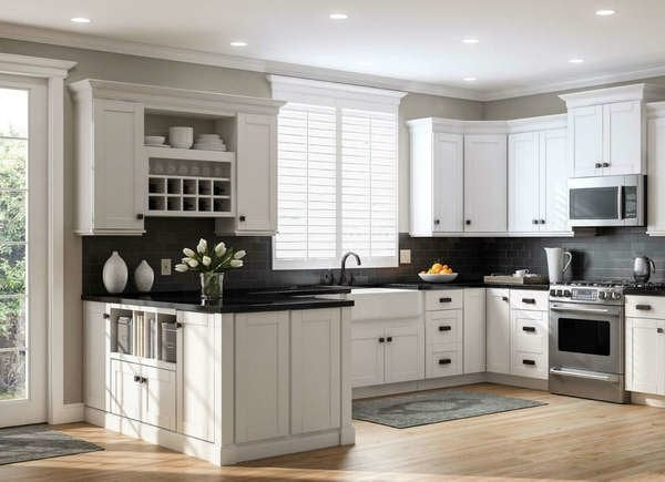 6 Kitchen Cabinet Styles To Consider, White Oak Kitchen Cabinets Home Depot
