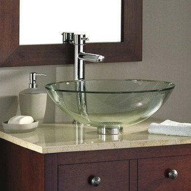 Vessel Sinks 10 Works Of Art Bob Vila, Glass Sinks Bathroom