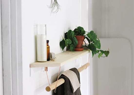 18 Bathroom Storage Ideas Bob Vila, Bathroom Shelves With Towel Bar Ideas