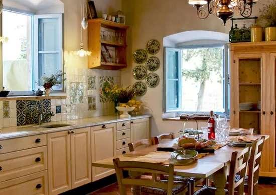 Кухня в тосканском стиле