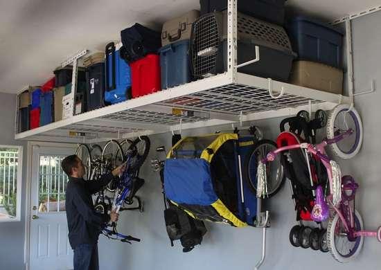 Garage Storage Ideas 11 Neat, Garage Hanging Storage Solutions