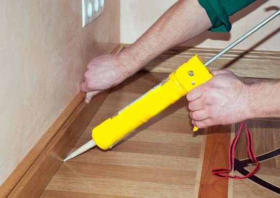 15 Problems You Can Solve With Caulk, Flexible Caulk For Laminate Flooring