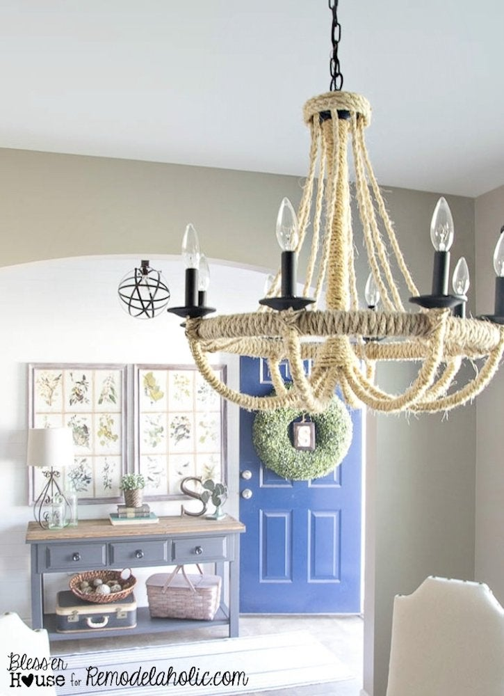 Diy Light Fixtures You Can Make For, How To Take Down Old Chandelier