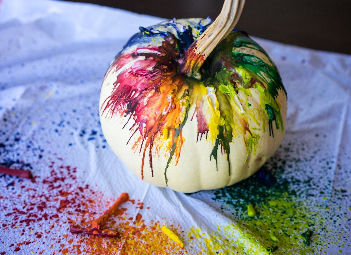 9 Easy DIY No-Carve Pumpkins