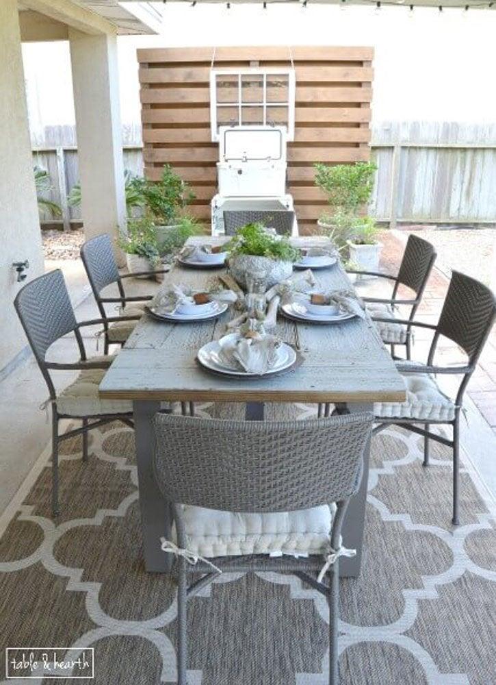 Diy Patio Table 15 Easy Ways To Make Your Own Bob Vila
