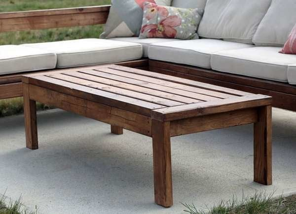 Diy Patio Table 15 Easy Ways To Make, Wooden Outdoor Table Plans Free