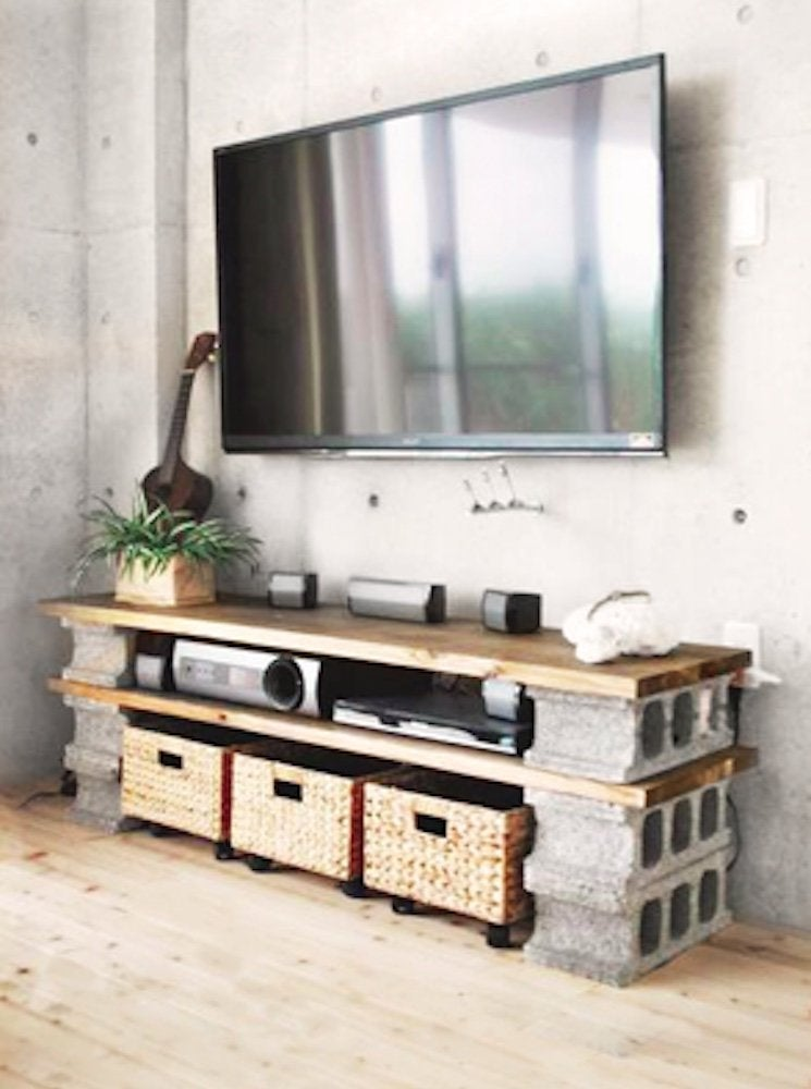 Cinder Block Furniture 8 Easy Diy, Cinder Block Patio Furniture